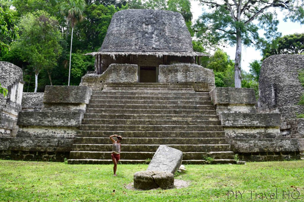 Tikal Plaza of the 7 Temples