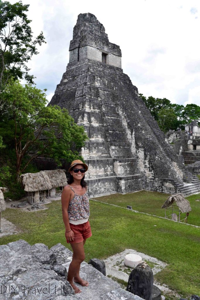 Tikal Temple I with Sheena