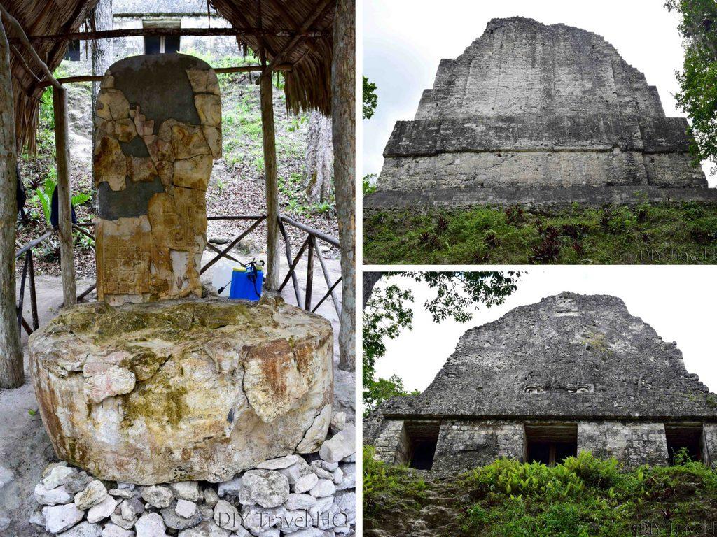 Tikal Temple VI Temple of the Inscriptions