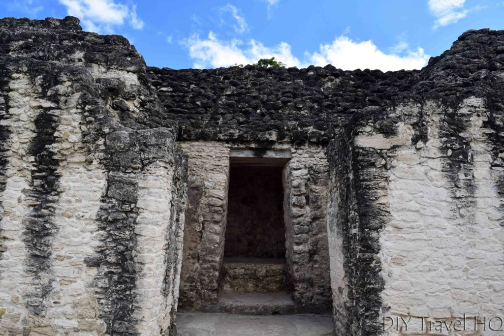 Tikal Temple of the Three Rooms Top