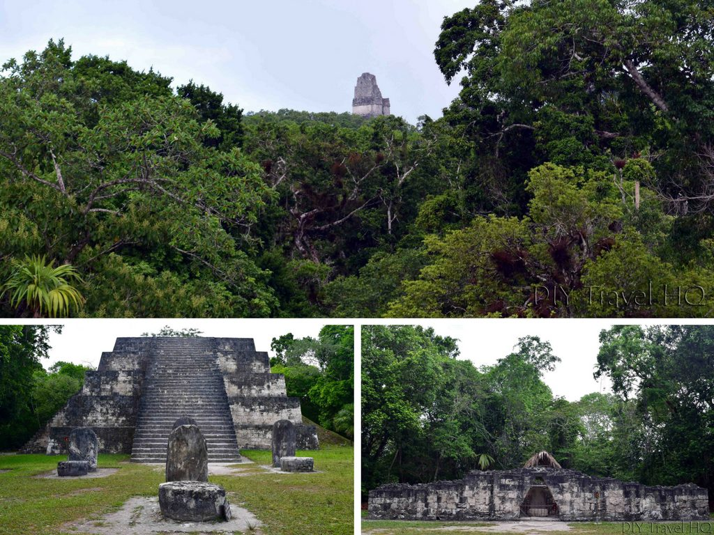 Tikal Twin Pyramid Complex Q with Stela 22 and Altar 10