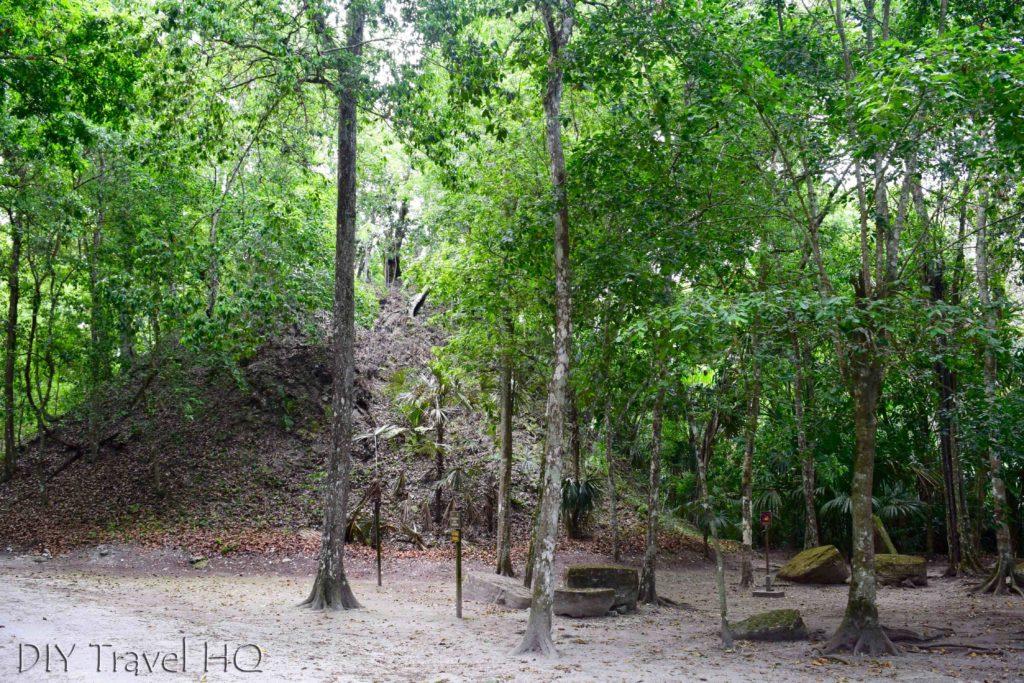 Tikal Twin Pyramid Complex R Unexcavated