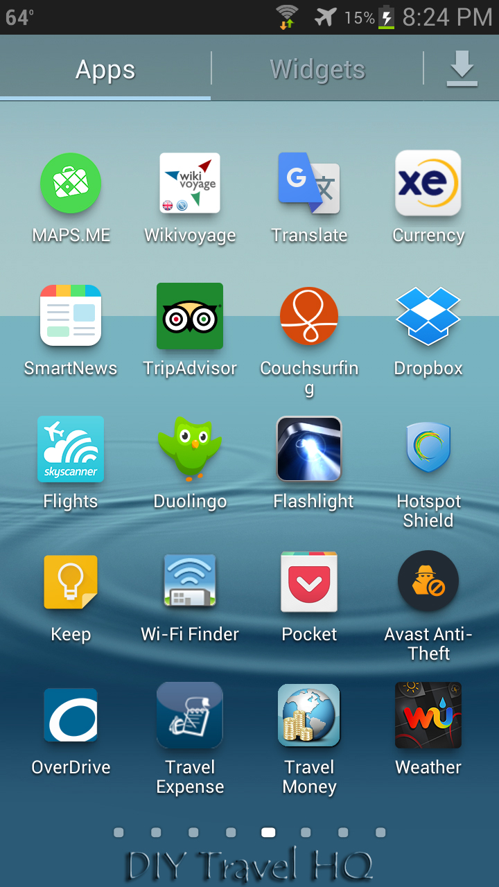 Top 20 Free Travel Apps for Backpackers - DIY Travel HQ