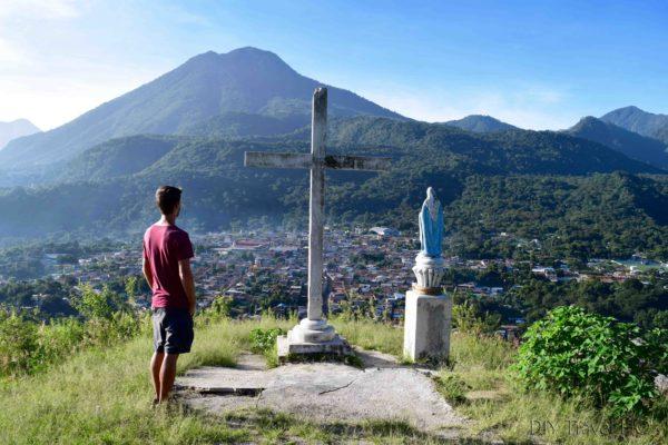 View of San Juan La Laguna from Cruz Lookout
