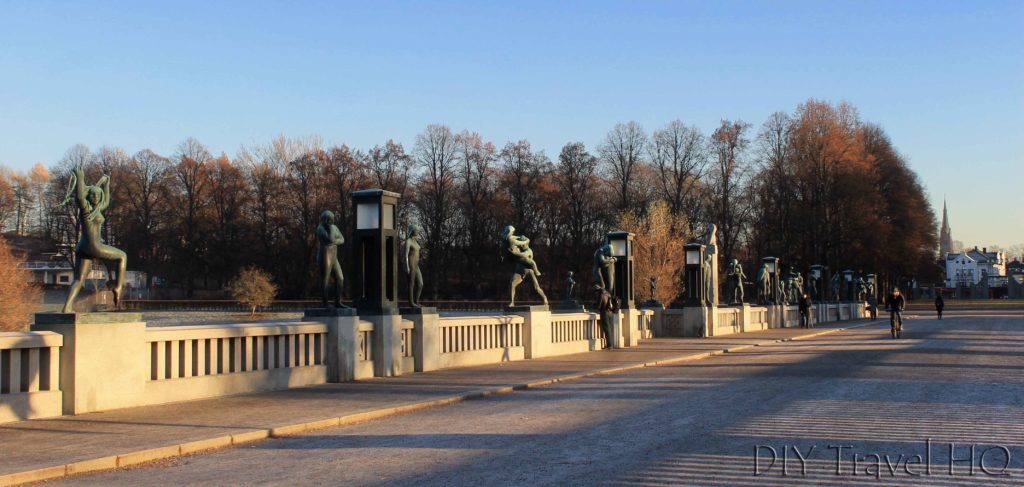 Bridge at Vigeland Sculpture Park