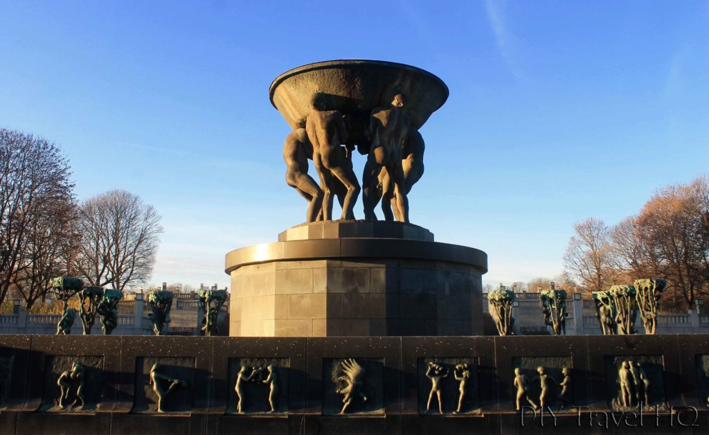 Vigeland Sculpture Park Fountain