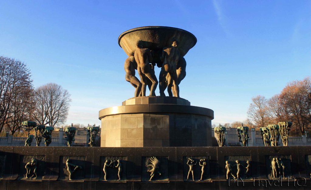 Vigeland Sculpture Park Fountain