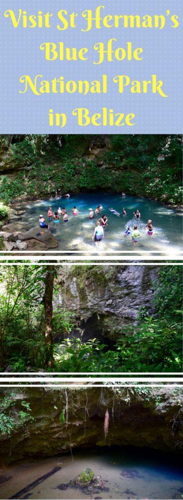 Visit St Herman's Blue Hole National Park