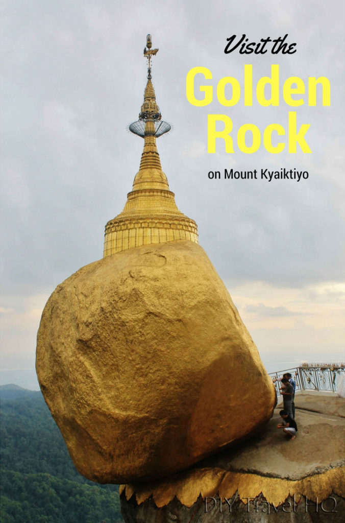 Myanmar Itinerary Golden Rock