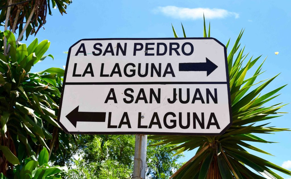 Walking to San Juan La Laguna