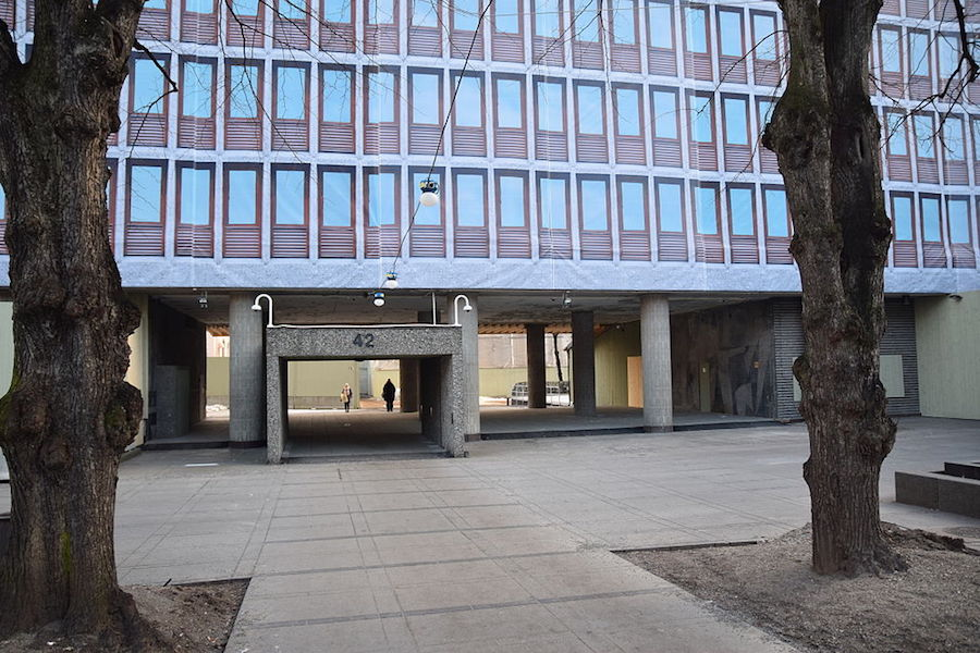 22 July Centre building