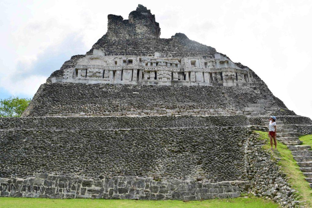 Xunantunich Mayan Ruins friezes