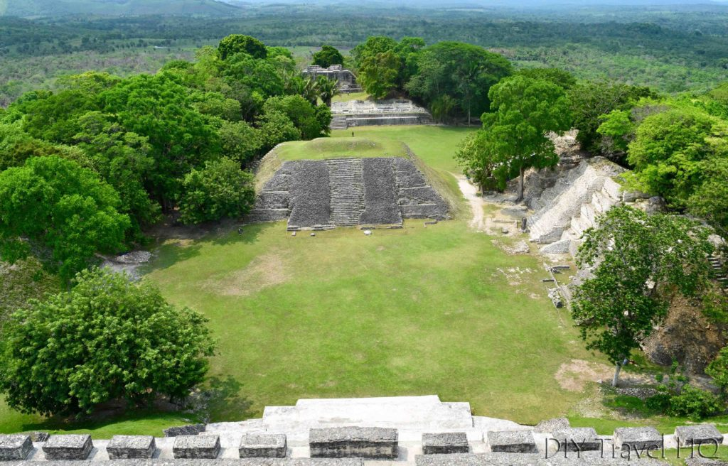 El Castillo view of Xunantunich, Belize