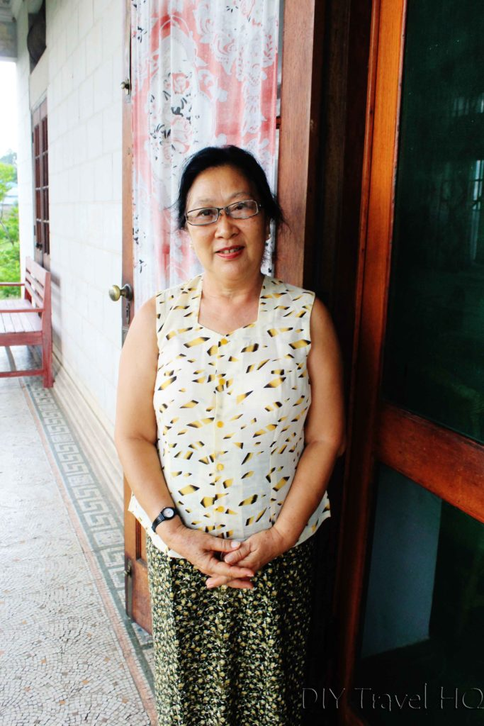 Mr Donald's wife in Hsipaw