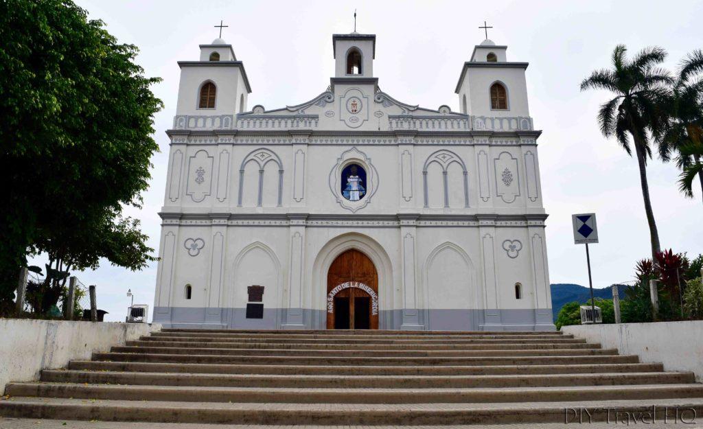 Ahuachapan Iglesia Parroquia de Nuestra Senora de la Asuncion