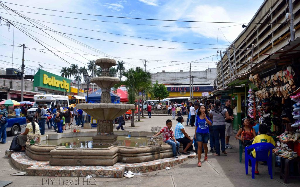 Ahuachapan Market Bus Terminal