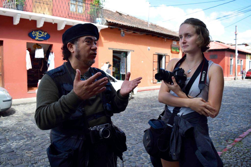 Antigua Photo Walk Instructions