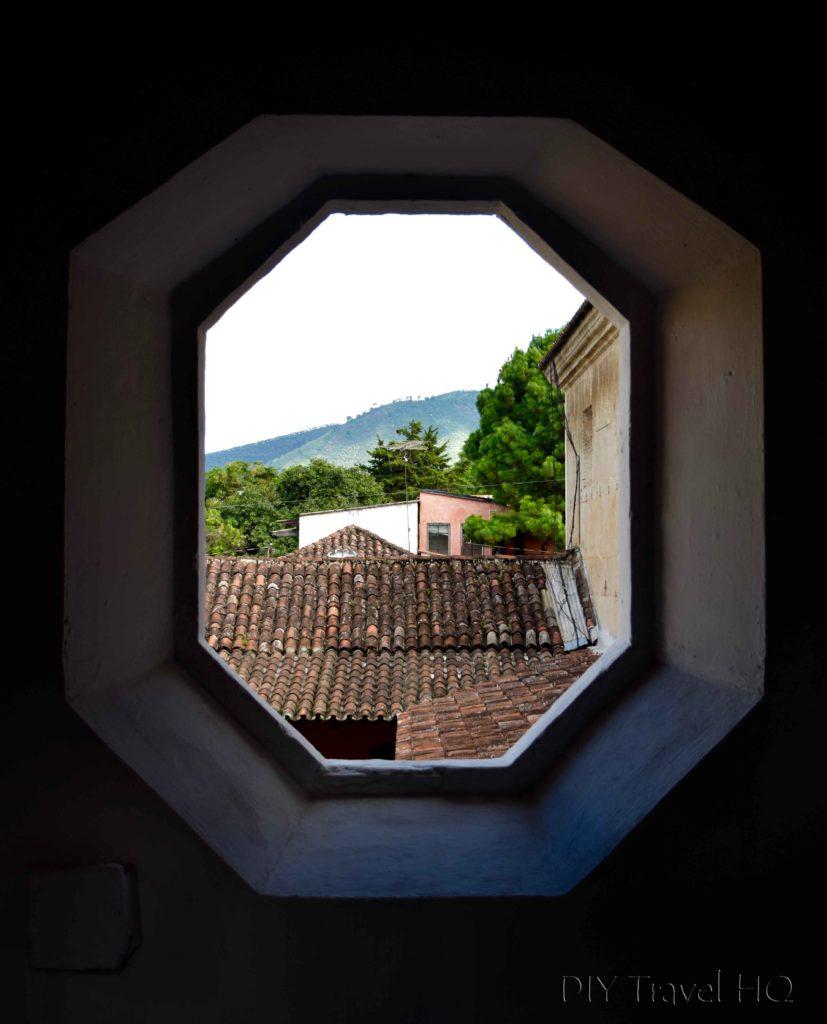 Antigua Photo Walk Natural Framing Window