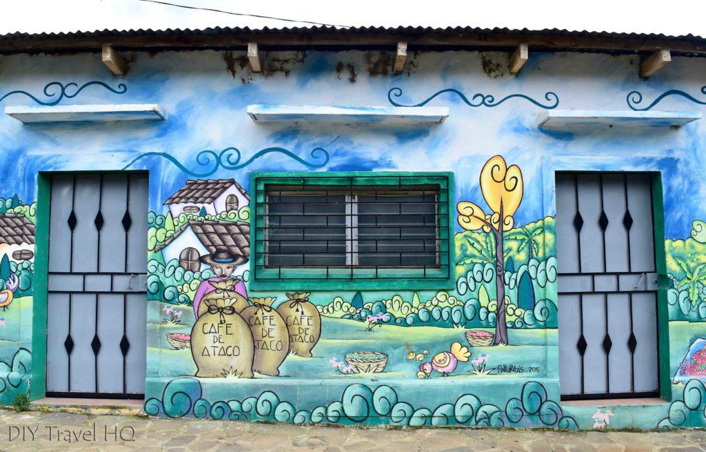 Ataco Coffee Mural