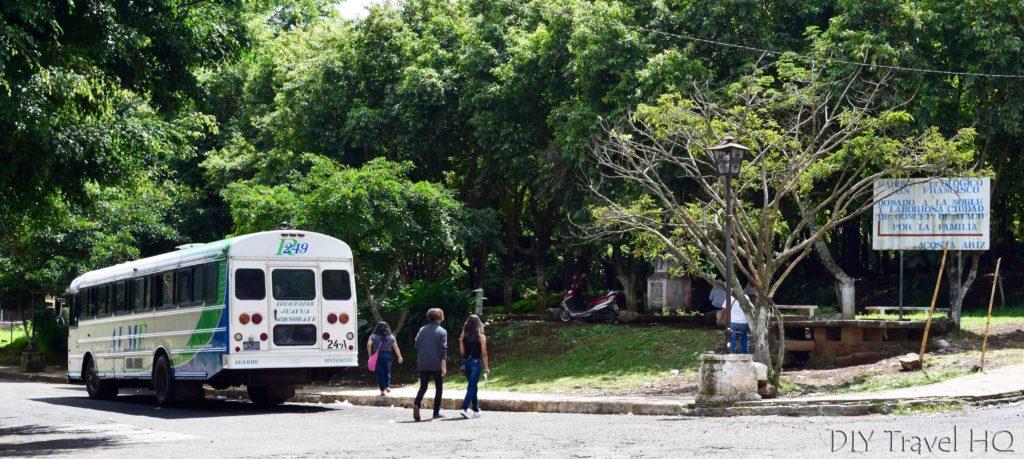 Ataco Ruta de las Flores Bus #249 Stop