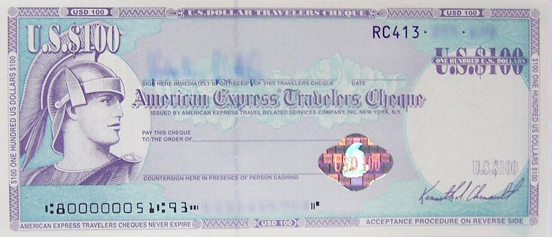 Travelers Cheque