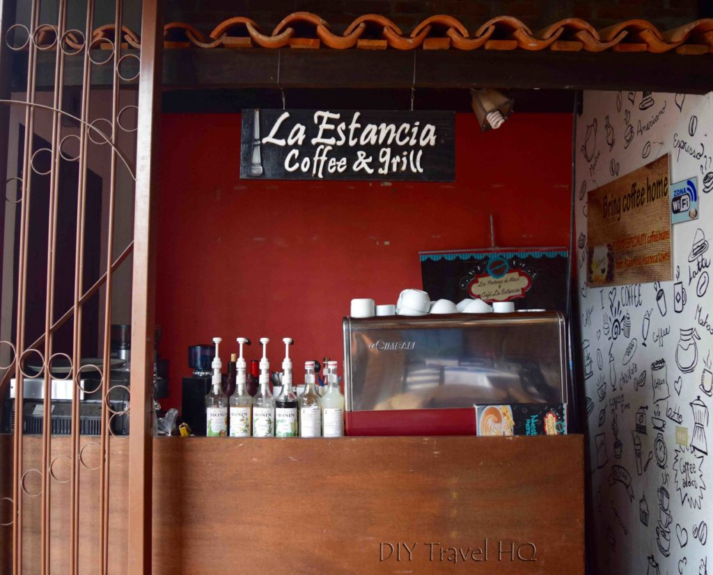 """La Estancia"" coffee bar"