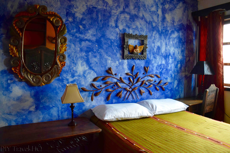 Hotel room at Casa Cristina