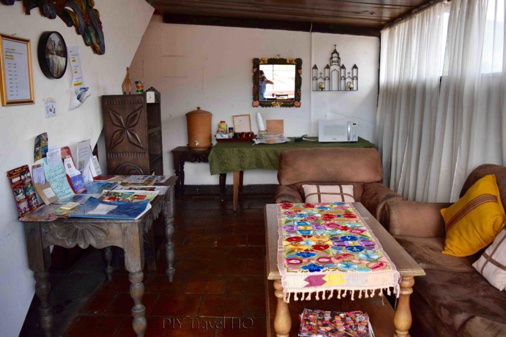 Reading Room at Casa Cristina