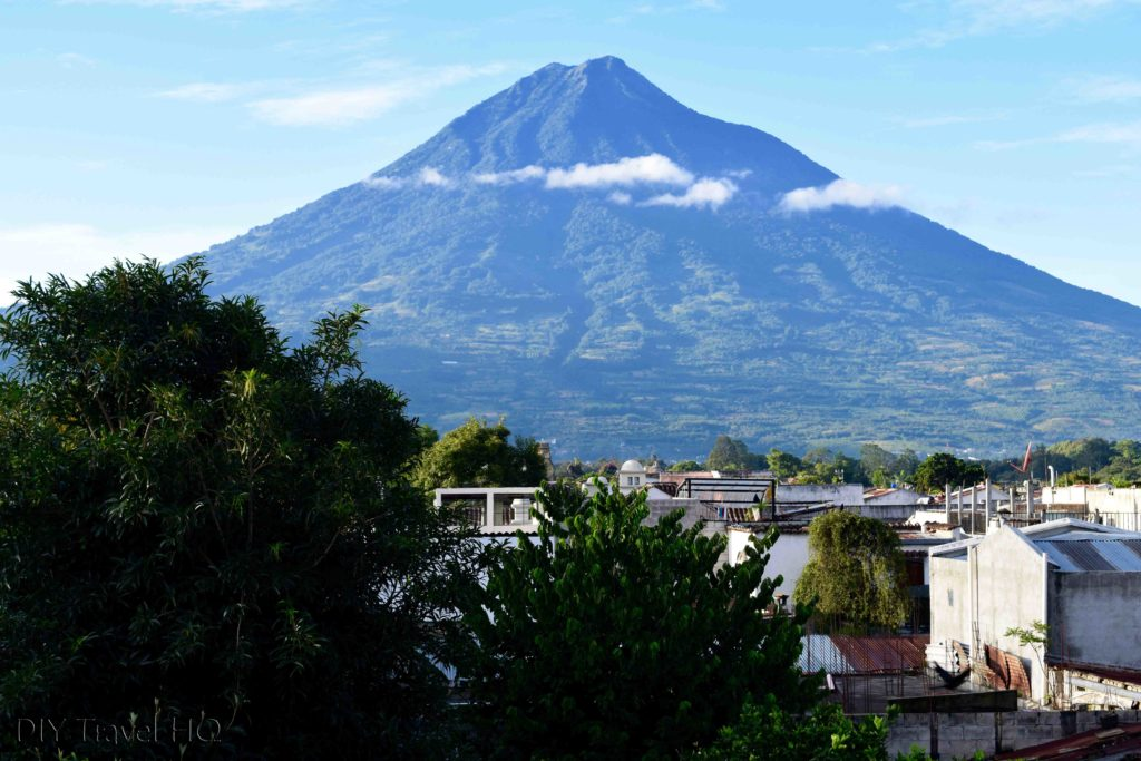 Volcan Agua from Casa Cristina