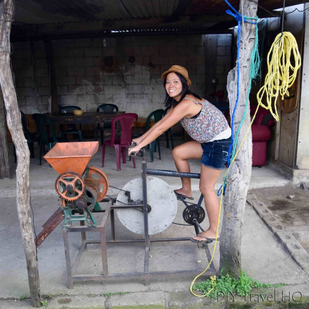 Local coffee farming bicycle