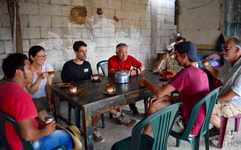 Coffee tasting on DLG tour