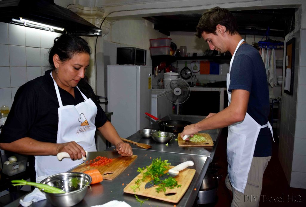 Learn to cook with El Frijol Feliz Antigua