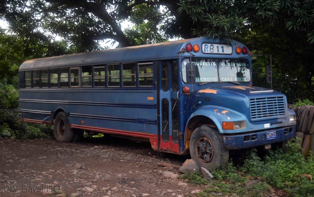 El Imposible National Park Bus to San Miguelito