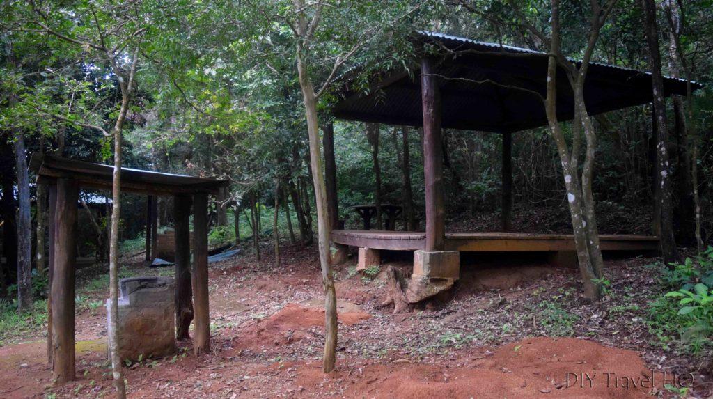 El Imposible National Park Campground #1