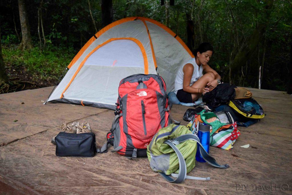 El Imposible National Park Camping