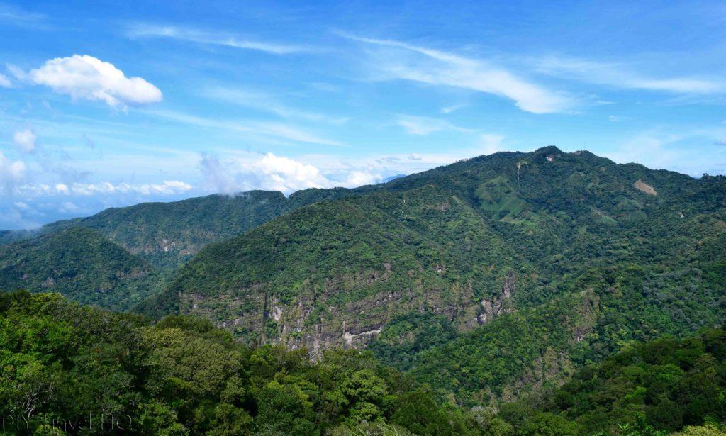 El Imposible National Park Cerro Leon Summit View of Surrounding Mountains