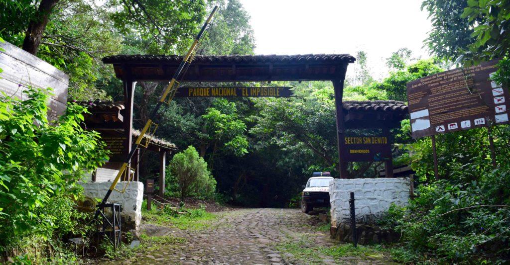 El Imposible National Park San Benito Entrance
