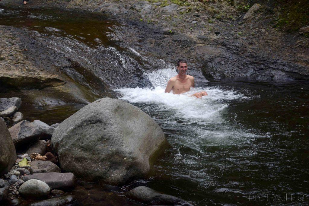 El Imposible National Park Los Enganches Swimming Spot