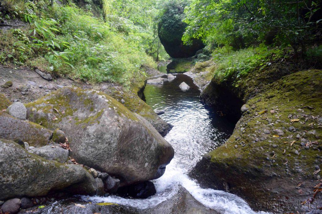El Imposible National Park Piedra Sellada Mini Waterfall