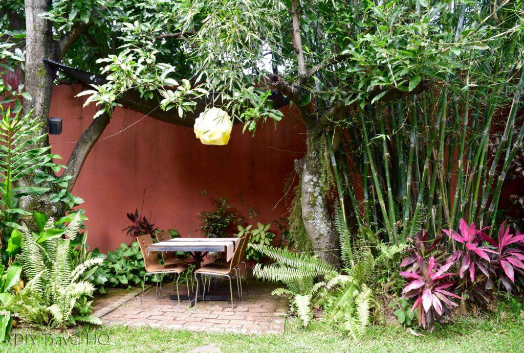 Casa Frolaz garden