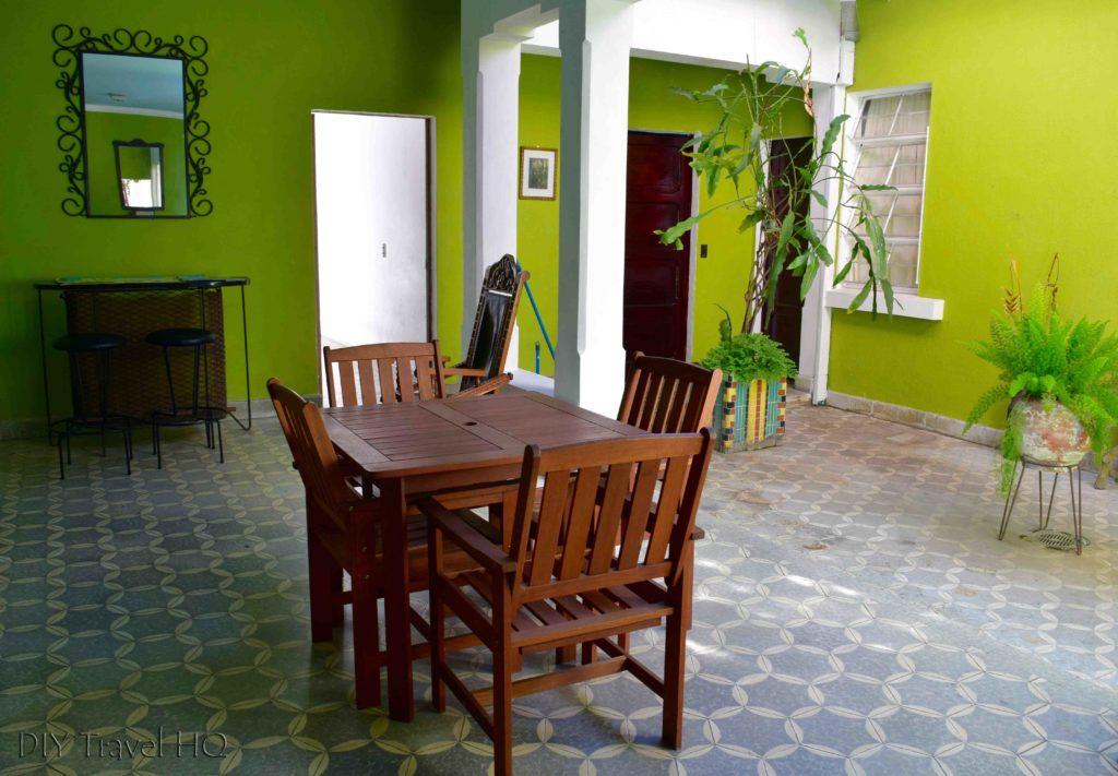 Hostal Cumbres del Volcan Flor Blanca Dining Room & Courtyard
