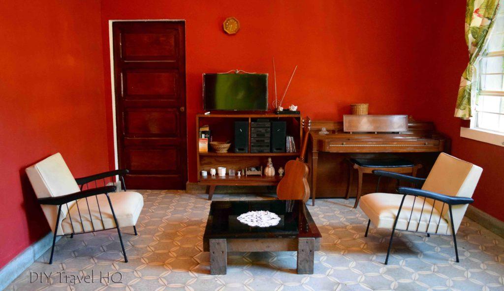 Hostal Cumbres del Volcan Flor Blanca Entertainment Room