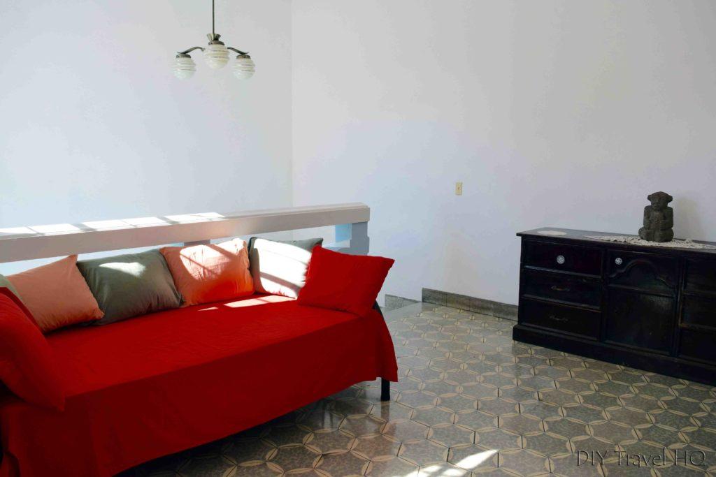 Hostal Cumbres del Volcan Flor Blanca Upstairs Lounge