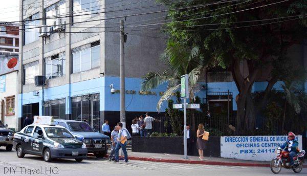 Immigration Office Guatemala City