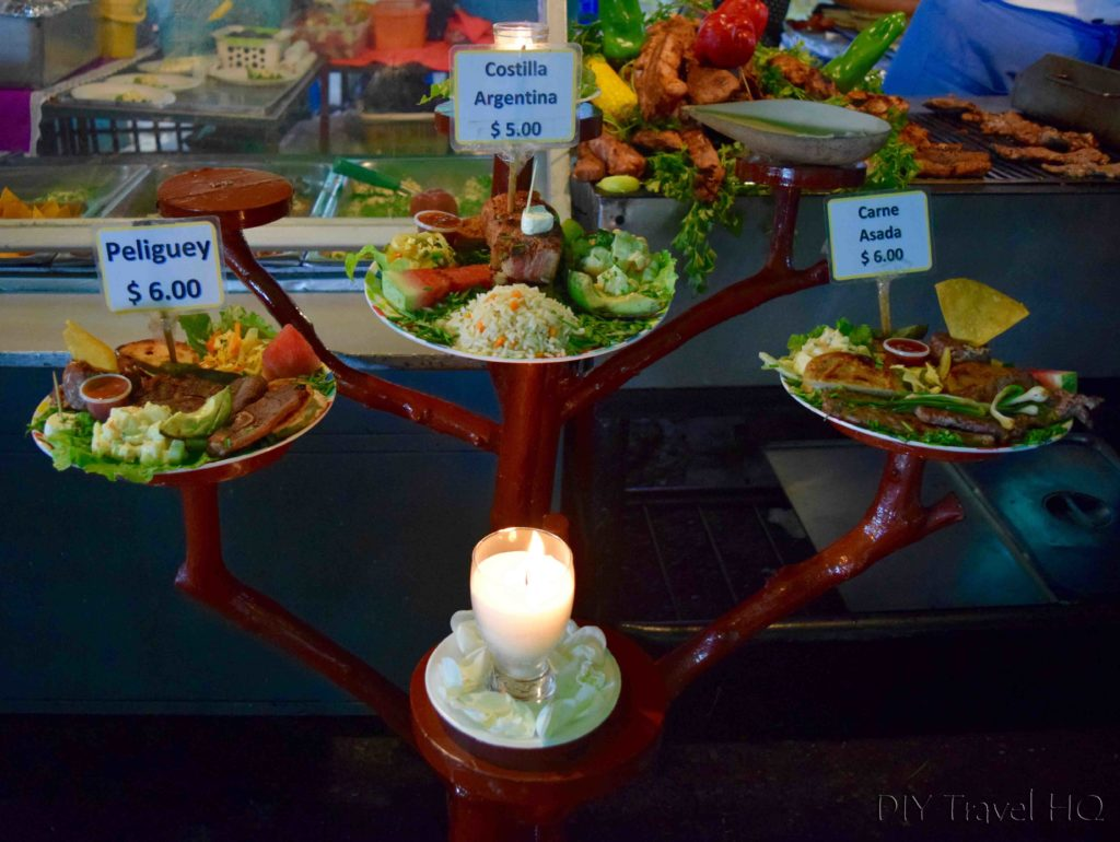 Juayua Food Fair Display Dishes