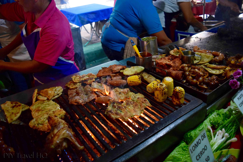 Juayua Food Fair Grilled Meat