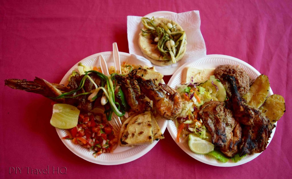 Juayua Food Fair Meals