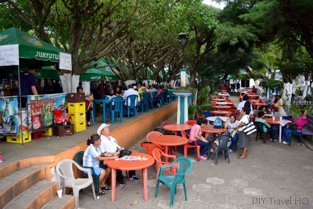 Juayua Food Fair Overflow Seating