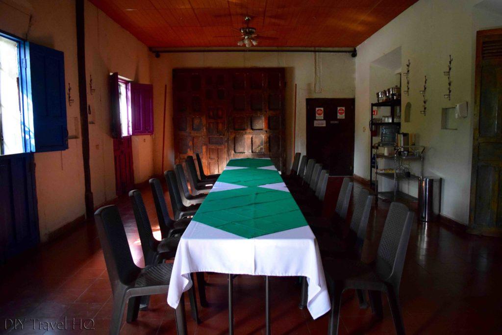 Salvadoran meals at La Casa de Mamapon