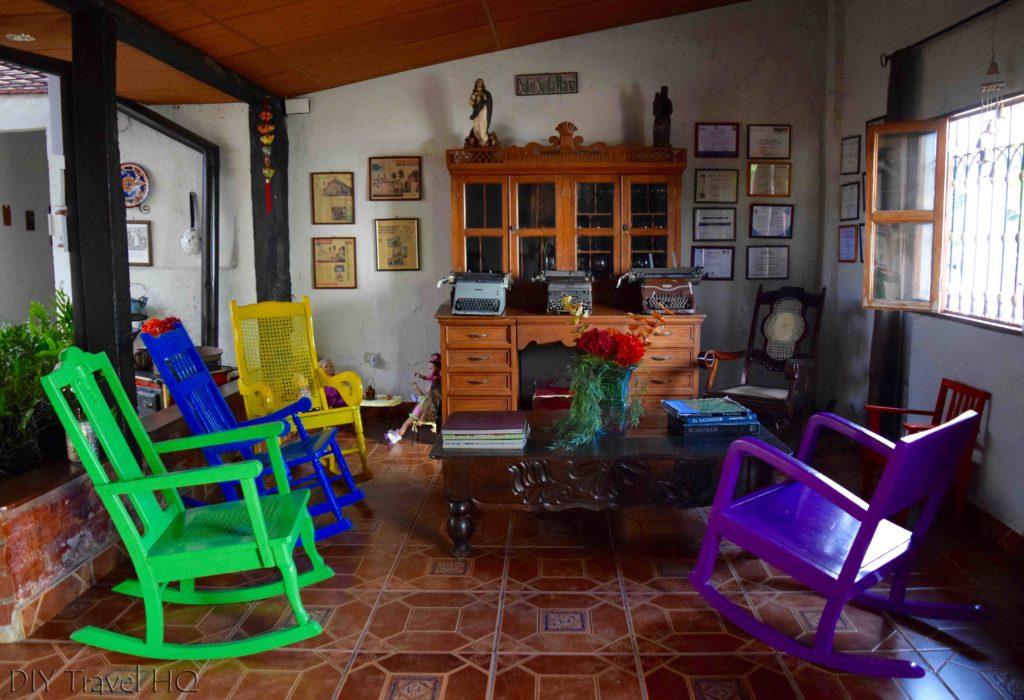 Reception at La Casa de Mamapan